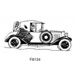 F8134 Art Deco Car L