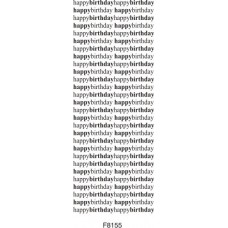 F8155 Repeat Happy Birthday Large