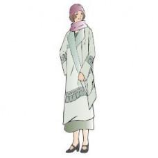 F8164 Art Deco Lady 3