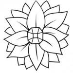 F8172 - Jeweled Flower