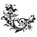 F8174 - Floral Swirl