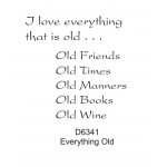 D6341 I Love Everything Old