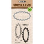 DC139 - Oval Tags Stamp & Cut