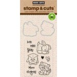 DC148 - Baby Animals Stamp & Cut OWH