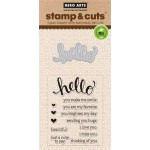 DC151 - Hello Stamp & Cut