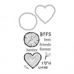 DC237 Besties Stamp & Cut