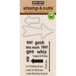 DC141 - Stamp & Cut Arrow Messages OWH