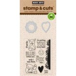 DC142 - Stamp & Cut The Fox Says OWH