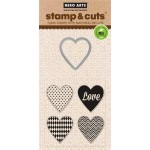 DC143 - Stamp & Cut Hearts