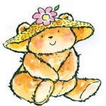 3612F Straw Hat Bear