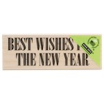 G5838 - Wishes for New Year (Woodblock Stamp)