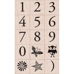 LP188 Garamond Number Set