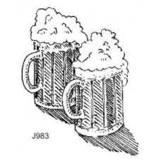 J983 Two Beer Mugs