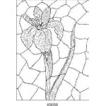 K9056 Stained Glass Iris