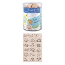 LL389 - Sea Life (Ink 'n' Stamp Woodblock Set)