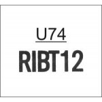 TU74 - Ribtype 7.94mm Letter & Number Set