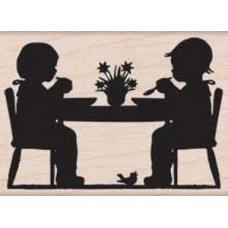 F5738 Children at Table